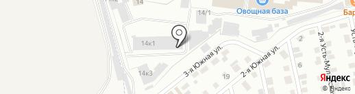 МСК-Трейд на карте Перми