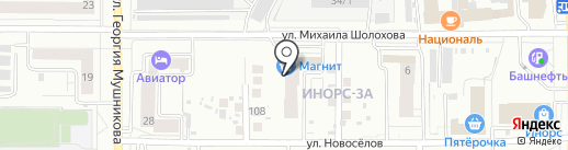 CONTRAST PROFI на карте Уфы