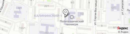 Люля-Кебаб на карте Уфы