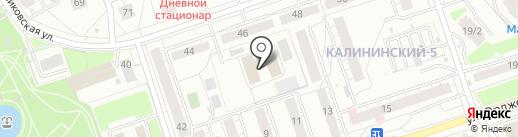 MegaDance на карте Уфы