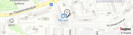 Табачный центр на карте Уфы