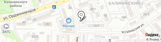 Карина на карте Уфы