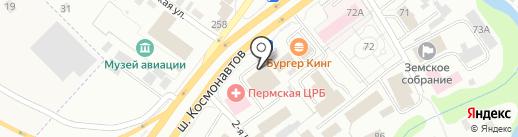 Магазин вышивки и детского творчества на карте Перми