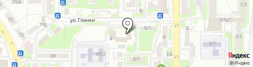 Металлика на карте Уфы