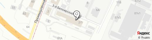ПермДекорСтрой на карте Перми