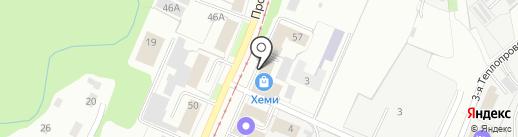АстраМетСтрой на карте Перми