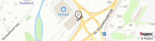 Радостный на карте Перми