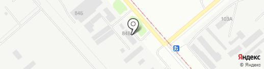 Промсвязь на карте Перми