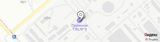 Каменная мануфактура на карте Перми
