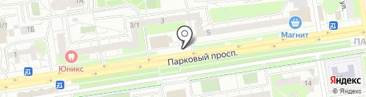 ГЛАВНЫЙ ЦВЕТОЧНЫЙ на карте Перми