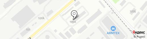 ВИСТА на карте Перми