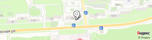 ОТДЕЛКА на карте Перми