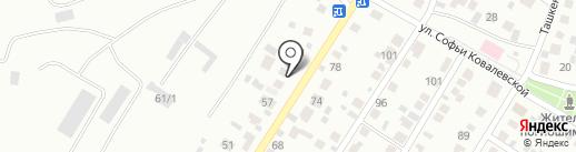 Ритуальный салон на карте Уфы
