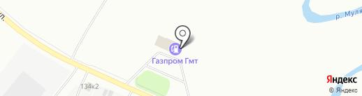 Газпром на карте Перми