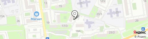 Чистоград на карте Перми