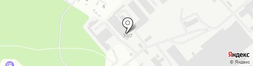 ФБС-Строй на карте Перми