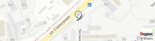 Стан на карте Перми
