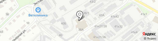 Автоград-Ойл на карте Перми