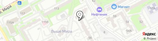 АльянсСтройИнжиниринг на карте Перми