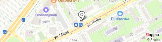 Хлебозавод №7 на карте Перми