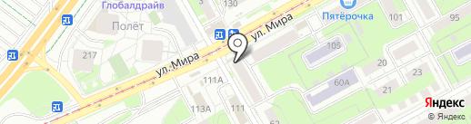 Банкомат, Почта Банк, ПАО на карте Перми