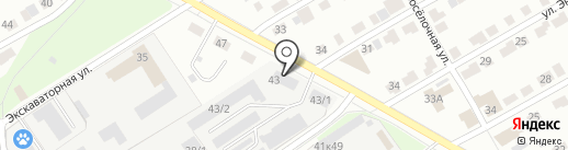 Перетяжкино на карте Перми