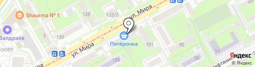 Белорусский трикотаж на карте Перми