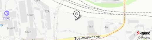 ПосудычЪ на карте Перми
