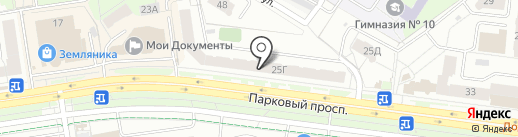 ОРТЕКА на карте Перми