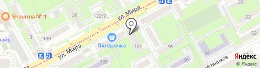 Магазин сувениров на карте Перми