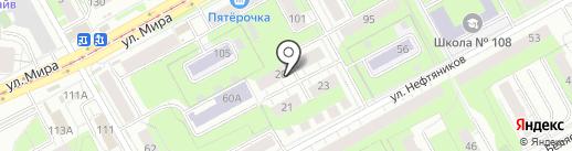 Школа шитья Ларисы Лобаевой на карте Перми