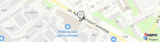Нюанс на карте Перми