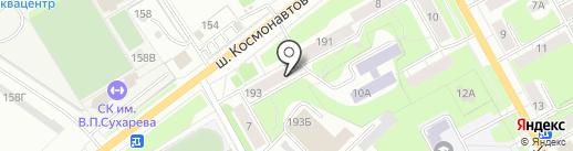 Полифорт на карте Перми