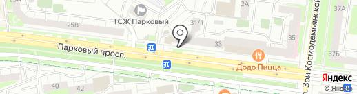Мастерская по ремонту микроволновых печей на карте Перми