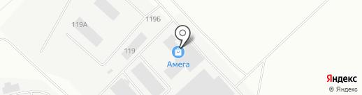 Орбита-Т на карте Перми