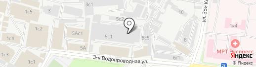 Таврия на карте Перми