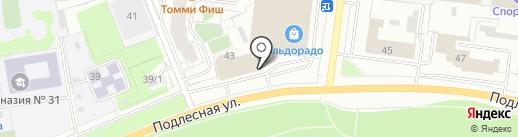Промиз на карте Перми