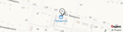Продуктовый магазин на карте Юга