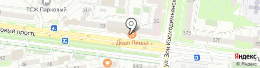 Svoy на карте Перми