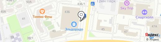 Цифрус на карте Перми