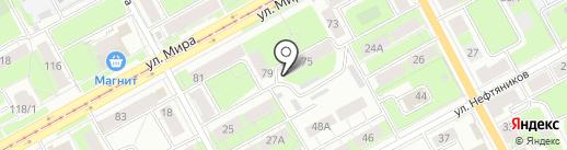 Вектор-Профи на карте Перми