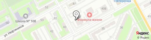 Нано Тревел Пермь на карте Перми