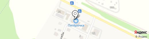 Банкомат, Сбербанк, ПАО на карте Акбердино