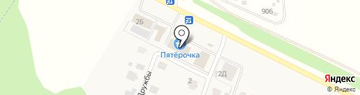 Банкомат, АКБ МОСОБЛБАНК на карте Акбердино