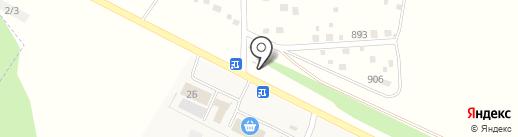 Абсолют-С на карте Акбердино