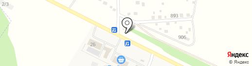 Абсолют на карте Акбердино