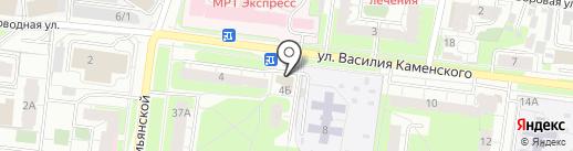 Каравайница на карте Перми