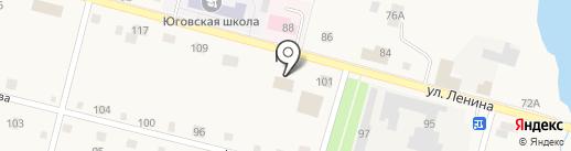 Сбербанк, ПАО на карте Юга