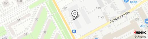 Торгово-строительная компания на карте Перми