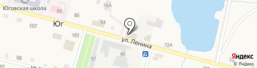 Магазин товаров для дома на карте Юга
